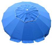 large beach umbrella royal blue