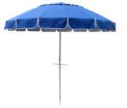 large beach umbrella royal blue up