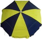 6.5' beach umbrella navy yellow