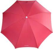 6 beach umbrella red