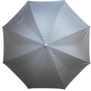 Reflective Silver sun blocking beach umbrella