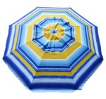 Fancy Beach Umbrella Sunburst