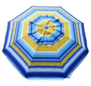 Fancy Beach Umbrella Sunburst