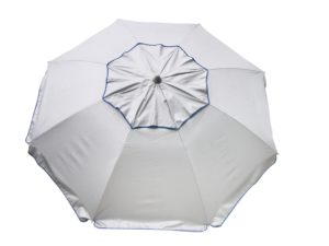 Sol-Ban sun-reflective beach umbrella