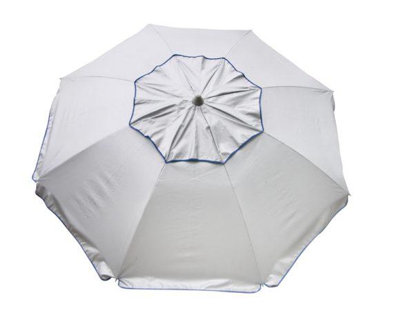 Sol-Ban sun-reflective beach umbrella