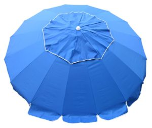 8 beach umbrella royal blue