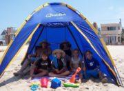 Quadra family beach cabana