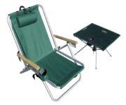 beach table chair