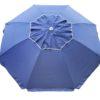 Beach umbrella navy blue