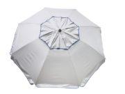 Reflective sun blociking beach umbrella