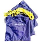 Beach umbrella tethering kit
