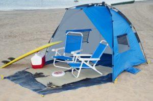 castaway beach tent