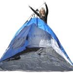 Castaway beach tent sequence 3