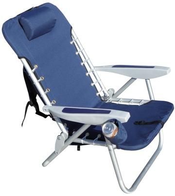 rio backpack aluminium beach chair