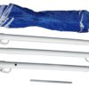 PortaBrella Portable Beach Umbrella is super compact and easy to assemble.