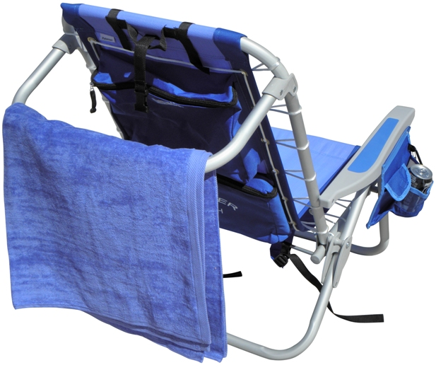 Cooler Rio Backpack Beach Chair Towel Rack