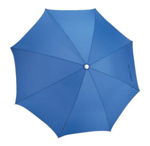 Royal blue sun blocking beach umbrella