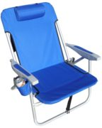 rio extra wide backpack beach chair royal