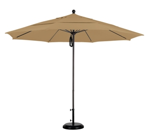 11 Foot Aluminum Olefin Patio Umbrella