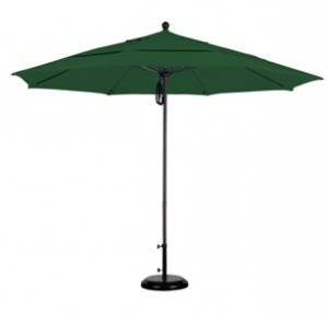 11 Foot Aluminum Sunbrella A Patio Umbrella