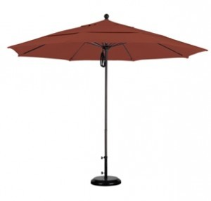 11 Foot Aluminum Sunbrella AA Patio Umbrella