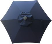 6 Rib Navy Blue Poly or Protexture