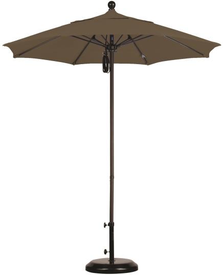 7.5′ Aluminum Sunbrella A Patio Umbrella