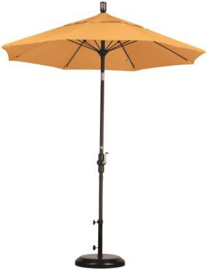 7.5 Foot Aluminum Sunbrella A Umbrella with Crank