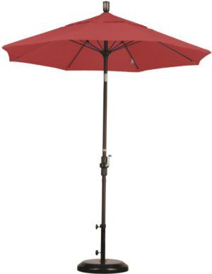 7.5 Foot Aluminum Sunbrella AA Umbrella with Crank