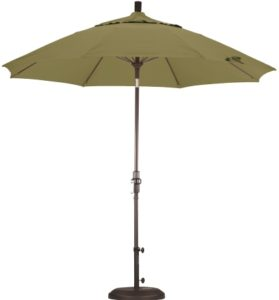9 Foot Aluminum Olefin Umbrella with Crank