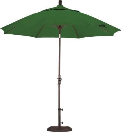 9 Foot Aluminum Pacifica Umbrella with Crank