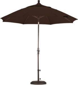 9 Foot Aluminum Sunbrella AA Umbrella with Crank