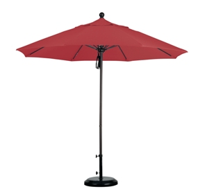 9' Aluminum Sunbrella AA Patio Umbrella