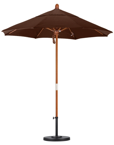 7.5′ Wooden Olefin Patio Umbrella