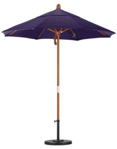 7.5' Wooden Pacifica Patio Umbrella