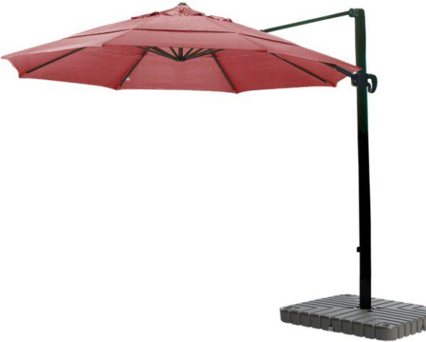 11′ Aluminum Cantilever Sunbrella AA Patio Umbrella
