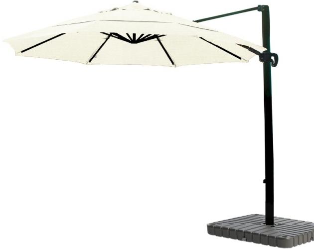 11' Aluminum Cantilever Sunbrella A Patio Umbrella