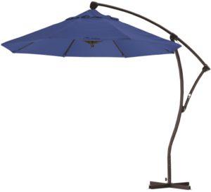 9' Aluminum Cantilever Sunbrella A Patio Umbrella