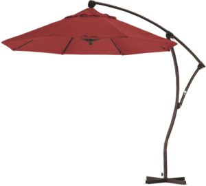 9' Aluminum Cantilever Sunbrella AA Patio Umbrella