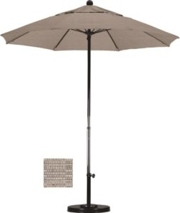 7.5' Fiberglass Olefin Patio Umbrella