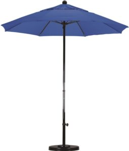 7.5' Fiberglass Sunbrella A Patio Umbrella