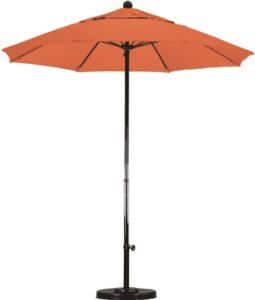 7.5' Fiberglass Sunbrella AA Patio Umbrella
