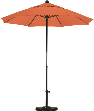 7.5' Fiberglass Sunbrella AA Patio Umbrella