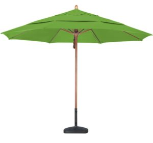11' Wooden Pacifica Patio Umbrella