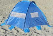 Surf Sider beach tent rear