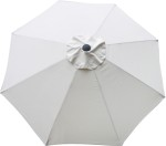 Natural Canvas poly umbrella replacement canopy cover.