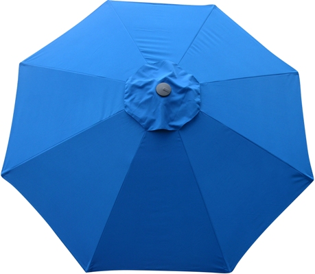 9 Umbrella Replacement Canopy 8 Ribs Pacific Blue Protexture