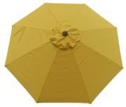 Sunflower umbrella replacement canopy cover top.