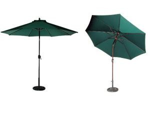 9' Aluminum Umbrella Tilt and Crank