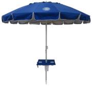 8' beach umbrella table royal blue up